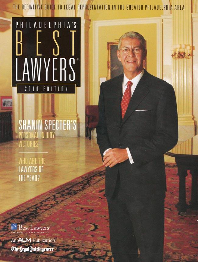 Best Lawyer in Philadelphia - Shanin Specter - Kline & Specter