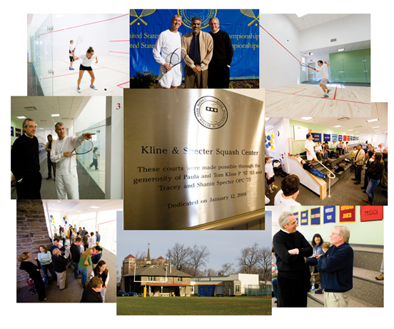 Kline & Specter Squash Center at William Penn Charter School