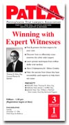 Winning with Expert Witnesses