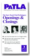 Openings & Closings