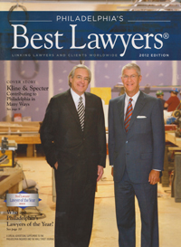 Best Lawyers Cover featuring Tom Kline and Shanin Specter