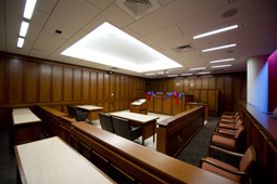 The Kline & Specter Courtroom