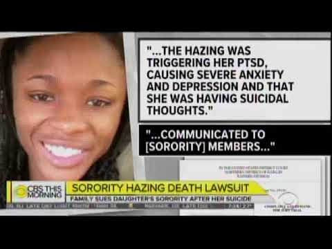 Embedded thumbnail for Tom Kline comments on Sorority hazing suicide, CBS This Morning 1/17/19